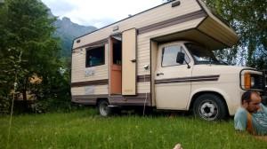 Ford Transit Camper in Saint-Hilaire du Touvet, France