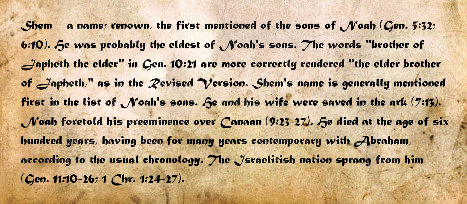 Jan: the origin of the name on different versions